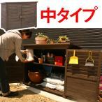ショッピング木製 木製物置 物置き 屋外 屋外収納庫 おしゃれ ベランダ DIY 工具入れ エクステリア ガーデン ガーデニング 庭 人気 可動棚 安定感