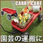 ガーデンカート キャリーカート ワゴン スチール