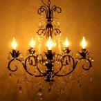 シャンデリア アンティーク調 アンティーク LED対応 照明 ガラス クラシック 玄関 天井照明 送料無料激安北欧インテリア 照明器具 ミッドセンチュ