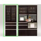大川家具 【開梱設置】食器棚 キッチン収納 和風 木製 ワンダー70上格子
