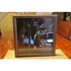 ハワイアンコアウッドウォールクロック ハワイアンアンティーク ハワイアンコアウッドクロック ハワイアン雑貨 ハワイ時計 ハワイ掛け時計
