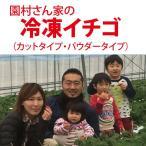 園村さん家の 冷凍いちご【3袋以上で送料無料】