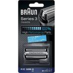 Braun (ブラウン) F/C32B-6 シェーバー替刃 シリーズ3 網刃・内刃一体型カセット ブラック