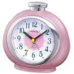 ノア精密 T-379PK-Z 目覚まし時計 フルーティ ピンク 16曲メロディーアラーム (マグ MAG / アナログ表示)