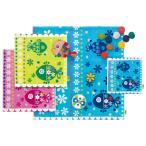 モヌアクア  フェイスタオル 全3色 お魚 アニマル 刺繍 ジャガード タオル かわいい グッズ 雑貨 Monu Monu Wonderland MN-7059