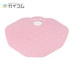 変形型クレープ包装紙 ピンク260mm 273mm 1袋 1000枚入
