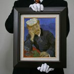 ゴッホ: ポール・ガシェ医師の肖像(ガッシェ博士の肖像)(原寸大・680×570)
