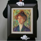 ムンク:マイスナー嬢の肖像画(F4号・333×242)