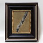 【GINZA絵画館】香月泰男 油絵3号「柳花」1965年・公式鑑定証書付・逸品