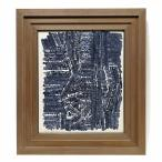 【GINZA絵画館】モダンアート巨匠・猪熊弦一郎 水彩画6号大「都市構設」1964年作・公式鑑定証書付き