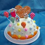 バースデーアイスケーキ ドラえもんローソク付き ラムネ味 お誕生日アイスケーキ