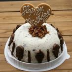 お誕生日ハッピーバースデー チョコチップアイスケーキ