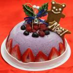 クリスマスアイスケーキ ベリーベリータルト