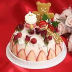 クリスマスケーキ バラとベリーのアイスクリームケーキ(いちかわバラ物語)