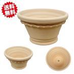 スペイン製 セシリア 24cm 2個セット  テラコッタ 陶器鉢 素焼き鉢 北海道・沖縄・離島の場合別途送料必要
