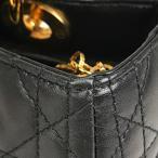 クリスチャン・ディオール Christian Dior レディ ディオール ハンドバッグ レザー レディース 【中古】 PB28