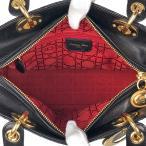クリスチャン・ディオール Christian Dior レディ ディオール ハンドバッグ レザー レディース 【中古】 PB5
