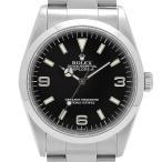 ロレックス ROLEX エクスプローラー1 14270 腕時計 SS 自動巻き ブラック メンズ 【中古】