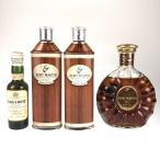 在庫一掃 レミーマルタン ブキャナンズ シーラン XO 4本 ウイスキー コニャック ブランデー セット 古酒
