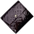 ルイ・ヴィトン Louis Vuitton ポルトフォイユ エリーズ Wホック エナメル 三つ折り財布 モノグラムヴェルニ アマラント M93523 レディース 中古