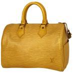 ルイ・ヴィトン Louis Vuitton スピーディ 25 ミニボストンバッグ 通勤鞄 通学鞄 ハンドバッグ エピ タッシリイエロー M43019 レディース 中古