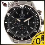 SEIKO セイコー SAEK015 ブライツアナンタ メンズ自動巻き腕時計 SS PVD ブラック 130周年 記念モデル 中古