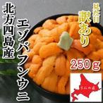 【訳あり】無添加塩水うに250g(エゾバフンウニ)(北方四島産)(北海道うに丼)