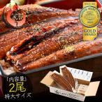うなぎ 蒲焼き 国産 無頭 鹿児島県産 特大サイズ 約200g×2尾 ウナギ 鰻