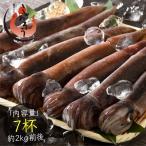 いか イカ 生 するめいか 7杯(約2kg前後)日本海産 スルメイカ 冷凍