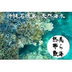 沖縄石垣島の天然海水20リットル汲みたて直送(送料無料)【美ら海熱帯魚】