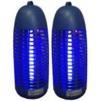【2台買えば送料無料】電撃殺虫器 光触媒捕虫ランプ 6W電撃殺虫器 PC-06 プロモート×2台