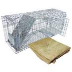 アニマルトラップ MODEL1089 PRO 中型動物用トラップ [捕獲器・捕獲機]