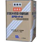 シロアリ駆除 白アリスーパー21 低臭性 18L オレンジ着色タイプ 白蟻防除木部処理用 自分でシロアリ対策