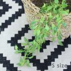 フェイクグリーン 垂れる葉っぱ Sサイズ 飾り オブジェ 観葉植物 おしゃれ 男前インテリア DIY おしゃれ かわいい シンプル テイスト カフェ 緑 いなざうるす屋の写真