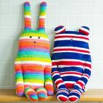 クラフトホリック 抱き枕 Lサイズ 抱き枕 ぬいぐるみ うさぎ くま ウサギ クマ カラフル かわいい プレゼント ギフト 大きい 送料無料 クラフトホリック