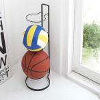 Yahoo!照明・家具・雑貨の快適ホームズボールスタンド フレーム Ball Stand Frame ブラック 玄関収納 サッカーボール バスケットボール バレーボール 置き 子供
