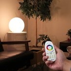 フロアライト ボールランプ 25cm LED 間接照明 リモコン テーブルランプ 丸 調光 調色 寝室 リビング 北欧 おしゃれ 照明器具 照明 シンプル テーブルライト