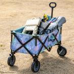 BRUNO×ムーミン アウトドアキャリーカート 折りたたみ 自立式 4輪 大容量 120L キャリーワゴン キャリーカート コンパクト アウトドア キャンプ