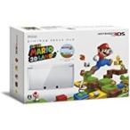 「【送料無料】【中古】3DS スーパーマリオ 3Dランド パック(アイスホワイト)」の画像