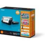 【送料無料】【中古】Wii U すぐに遊べるファミリープレミアムセット(クロ) 黒 任天堂 本体(マリオU、パーティーU内蔵)