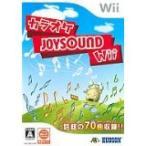 【送料無料】【中古】Wii カラオケJOYSOUND ジョイサウンド (ソフト単品)