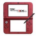 【送料無料】【中古】3DS Newニンテンドー3DS LL メタリックレッド 本体 任天堂(箱説付き)