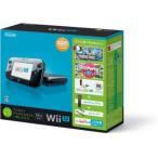 【欠品】【送料無料】【中古】Wii U すぐに遊べるファミリープレミアムセット+Wii Fit U(クロ)(バランスWiiボード非同梱)(箱説付き)
