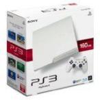 【送料無料】PS3 PlayStation 3 プレイステーション3 (160GB) クラシック・ホワイト (CECH-3000A LW) 本体(箱説付き)