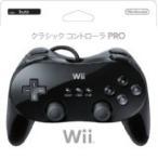 Wii クラシックコントローラ PRO(クロ) コントローラー(箱説付き)