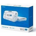 Wii U プレミアムセット shiro (WUP-S-WAFC) シロ 白 任天堂 本体(箱説付き)