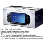 【送料無料】【中古】PSP「プレイステーション・ポータブル」 バリューパック (PSP-1000K)(箱説付き)