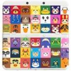 ショッピングどうぶつの森 【送料無料】【中古】3DS New ニンテンドー キセカエプレートパック どうぶつの森 本体 任天堂(箱説付き)