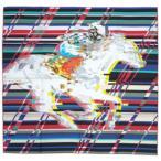 ショッピングHERMES エルメス スカーフ HERMES ソルド カレ ツイル シルク100% 90CMS PHOTO FINISH フランボワーズ/グレー/ブルー hscgm27454
