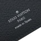 ルイヴィトン 財布 M60622 LOUIS VUITTON ヴィトン エピ LV メンズ ファスナー長札 16枚カード ポルトフォイユ・ブラザ ノワール(マットブラック)